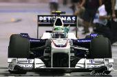 图文:F1新加坡站第一次练习 海德费尔德