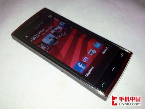 S60新触控双雄 诺基亚X6对比N97 Mini