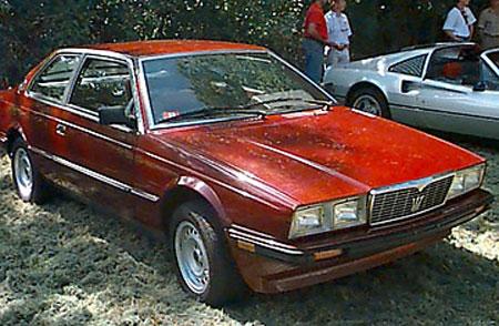biturbo只是一件 昂贵的垃圾 这辆车早已成为玛莎拉蒂高清图片