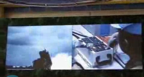 建国60周年成就展上首度曝光了中国巡航导弹的发射视频