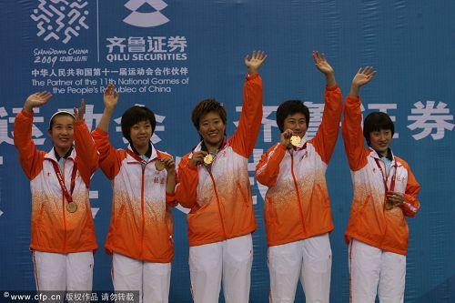 北京队实现三连冠