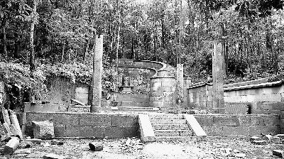 上金贝畲寨神秘古墓