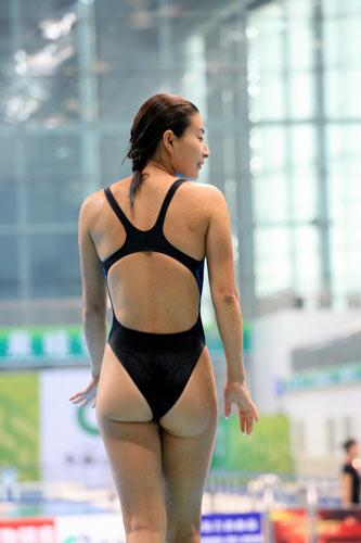 第十一届全运会 全运会跳水 跳水图片 郭晶晶备战全运会图片