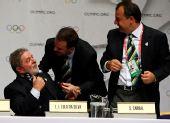 图文:巴西总统泪洒发布会 卢拉谈感受