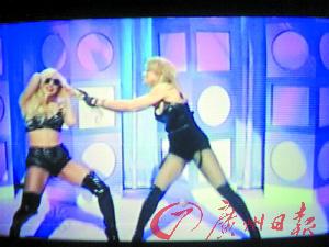 麦当娜和Lady GaGa撕扯起来