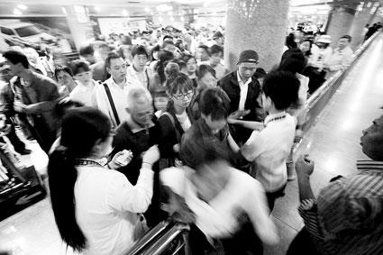 地铁天安门西今取消封站