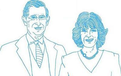 第一夫人网站发素描 奥巴马夫妇似 外星人