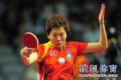 图文:世界杯李晓霞4-0刘佳 李晓霞张开双臂