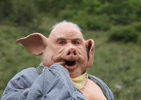 新《西游记》猪八戒造型被批:太猪太可怕