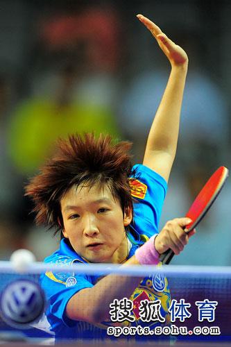 刘诗雯回球姿势