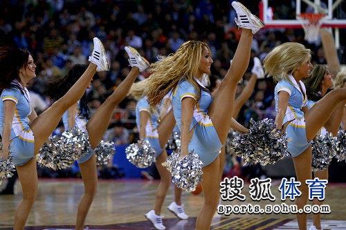 a北京赛 美女抬腿