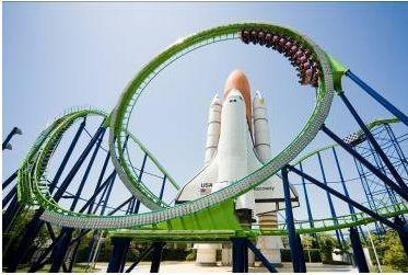 太空世界是唯一的宇宙主题游乐园   位于福冈县北九州市的太空世界