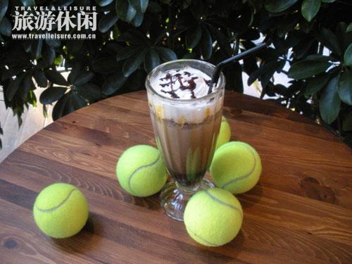 雕刻时光咖啡馆给爱网球的人