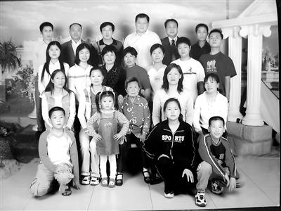 教育世家的2008年的全家福