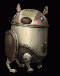 垃圾桶最早发觉阿童木的机器人身份,但却无法劝服「地球青少年机器人