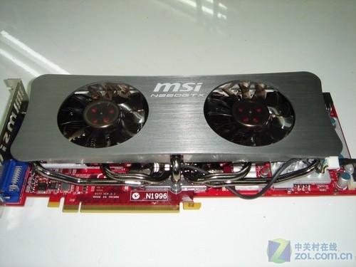 与二线卡对杀价 微星GTX260+狠砸1099元