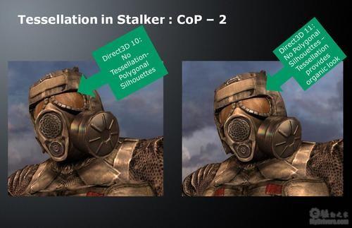 【10.14】《S.T.A.L.K.E.R.: COP》DX11/10阴影、曲面对比