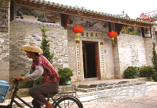 广州现存最早的天后古庙