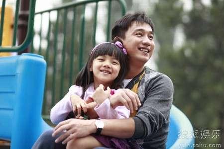黄磊和女儿