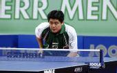 图文:男乒世界杯赛场新面孔 巴西选手松本惠