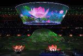 图文:第十一届全运会济南隆重开幕 文艺表演78