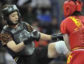 图文:武术散打女子70公斤级赛况