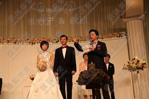张怡宁大婚现场