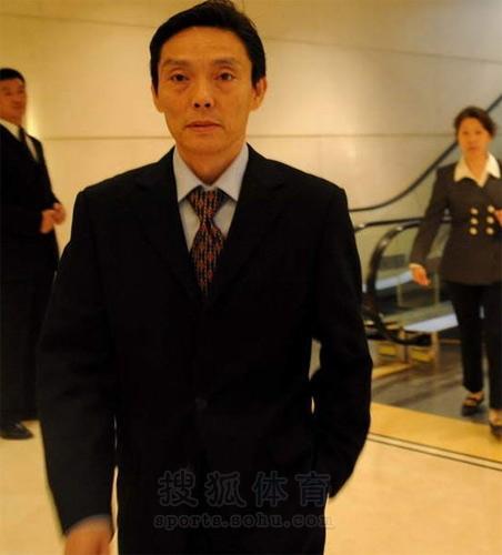 图文:张怡宁大婚名将道贺 陆元盛到场