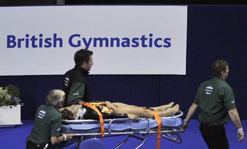 哥伦比亚选手奥瑞特兹意外受伤