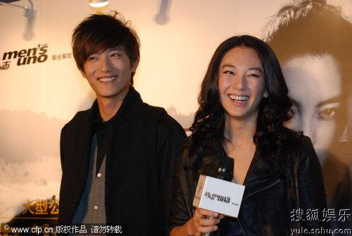 张雨绮/张雨绮和张峻宁在拍摄的公益活动中