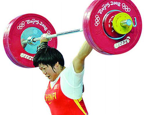 """""""大力士""""刘春红夺全运金牌没有任何悬念。"""