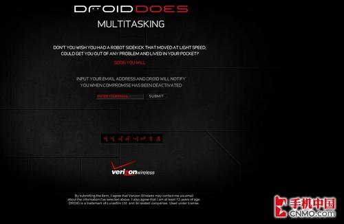 MOTO Droid十月底推出 广告挑衅iPhone