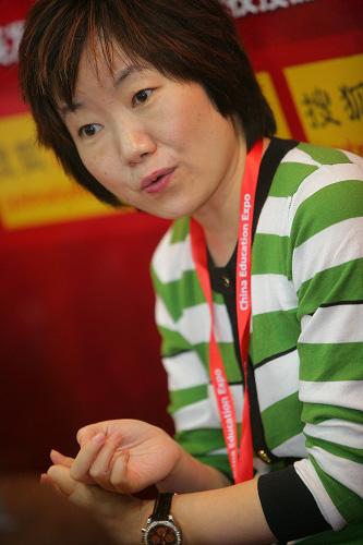 瑞士格里昂酒店管理学院院校代表吴雪梅