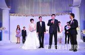 图文:张怡宁婚礼新照曝光 李隼送去祝福