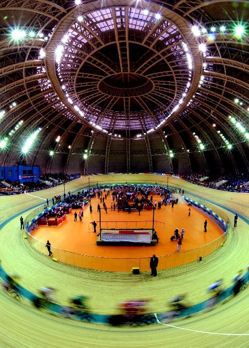 济南,2009年10月20日 (全运会)(4)自行车——女子场地记分赛