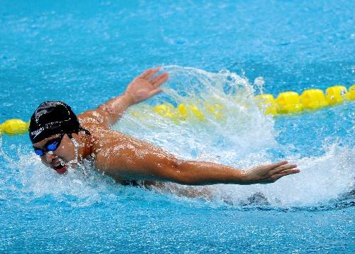 全力:吴鹏划水图文200米冠军蝶泳男子获得v全力翼风图片