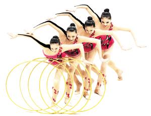 辽宁队女队员们成为赛场上最闪亮的明星。