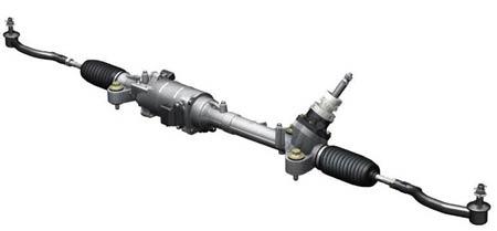 EPAS电动助力转向在任何驾驶情况下都能提供合适的转向助力。
