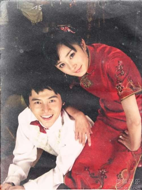 """杨幂和孙坚的""""结婚照"""""""