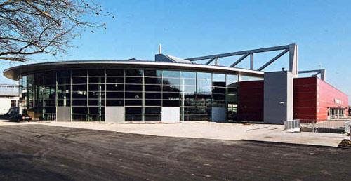 图文:乒球团体世界杯举办地 世界杯比赛场馆