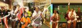 图文:乒球团体世界杯举办地 现场桑巴舞表演