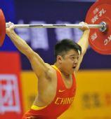 图文:男子56公斤级龙清泉夺冠 挺举成功