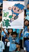 图文:[中超]大连VS北京 球迷讽刺国安