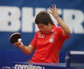 图文:世界杯女团1/4决赛 李晓霞侧身提拉