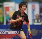 图文:国乒女团3-1逆转中国香港 握拳怒吼庆祝