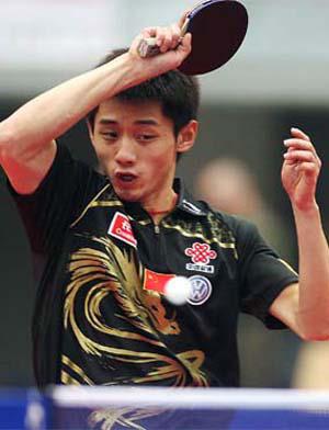 助中国队决赛旗开得胜的张继科