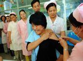 福建首批约52万工作人员接种甲型H1N1流感疫苗