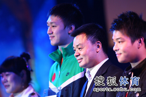 江和平与体育明星出席