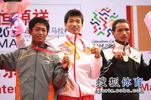 1-马拉松-内蒙古韩刚夺冠