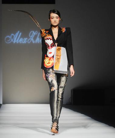 2010上海时装周设计师郑彤作品